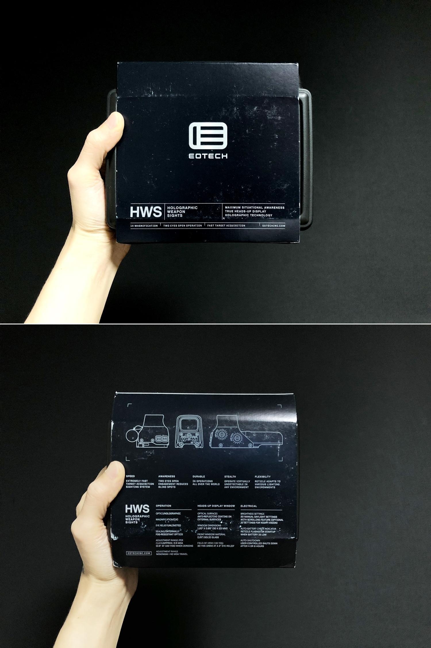 4 実物 EOTech XPS3-0 HOLOGRAPHIC SIGHT BLACK GET!! 次世代 M4 CQB-R カスタム 続編!! イオテック ホロサイト 購入 取付 レビュー!!