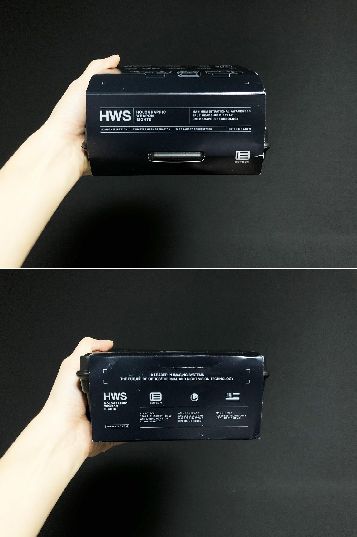 5 実物 EOTech XPS3-0 HOLOGRAPHIC SIGHT BLACK GET!! 次世代 M4 CQB-R カスタム 続編!! イオテック ホロサイト 購入 取付 レビュー!!