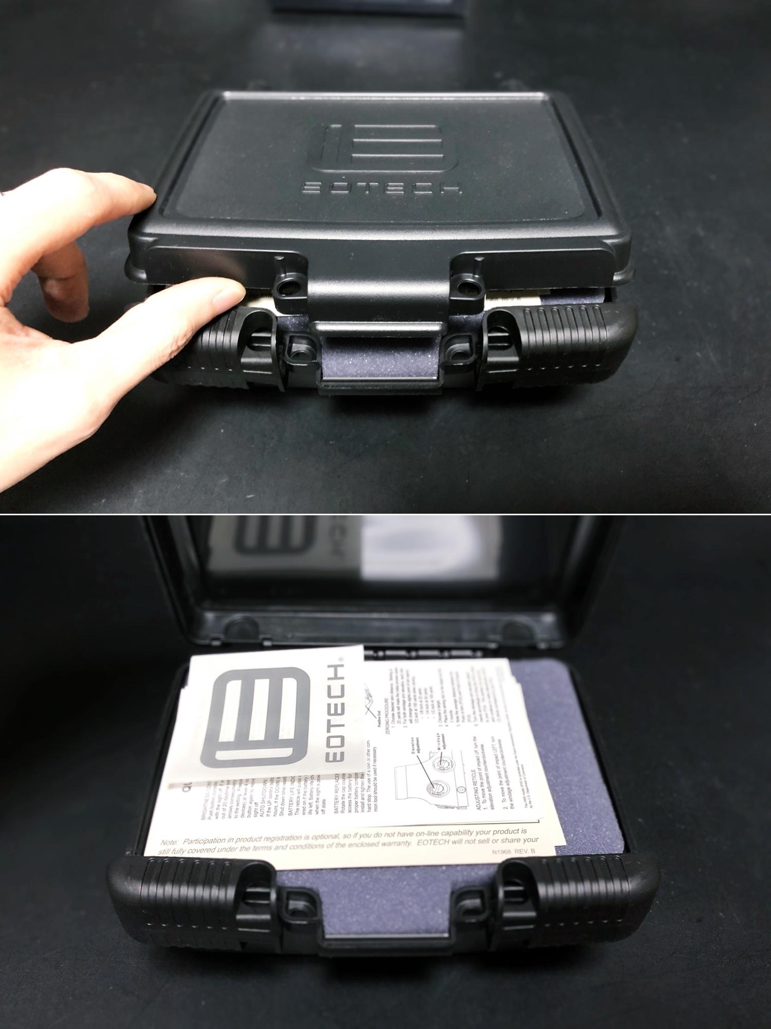9 実物 EOTech XPS3-0 HOLOGRAPHIC SIGHT BLACK GET!! 次世代 M4 CQB-R カスタム 続編!! イオテック ホロサイト 購入 取付 レビュー!!