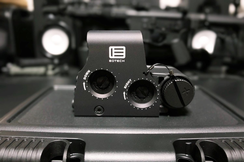 12 実物 EOTech XPS3-0 HOLOGRAPHIC SIGHT BLACK GET!! 次世代 M4 CQB-R カスタム 続編!! イオテック ホロサイト 購入 取付 レビュー!!