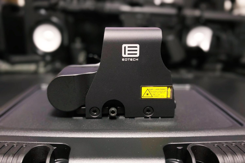 14 実物 EOTech XPS3-0 HOLOGRAPHIC SIGHT BLACK GET!! 次世代 M4 CQB-R カスタム 続編!! イオテック ホロサイト 購入 取付 レビュー!!