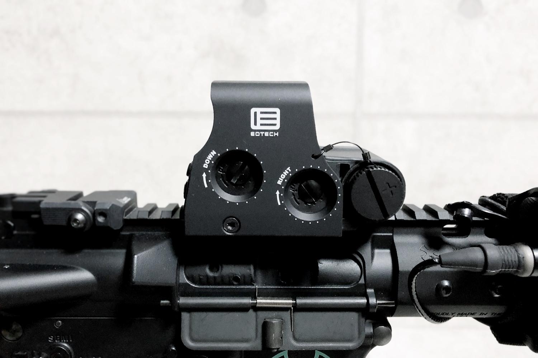 20 実物 EOTech XPS3-0 HOLOGRAPHIC SIGHT BLACK GET!! 次世代 M4 CQB-R カスタム 続編!! イオテック ホロサイト 購入 取付 レビュー!!