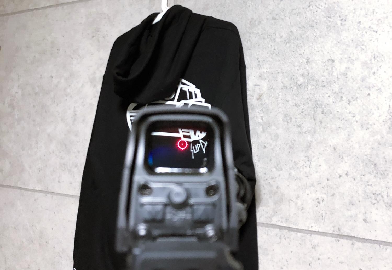 26 実物 EOTech XPS3-0 HOLOGRAPHIC SIGHT BLACK GET!! 次世代 M4 CQB-R カスタム 続編!! イオテック ホロサイト 購入 取付 レビュー!!