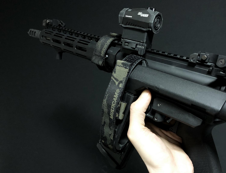 11-1 実物 LUNAR CONCEPTS BASELINE SINGLE POINT SLING & Impact Weapons Components SLING MOUNT QD D-RING!! シングルポイントスリング