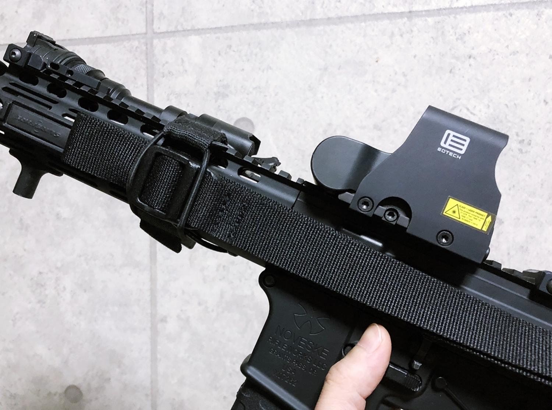 12 実物 LUNAR CONCEPTS BASELINE SINGLE POINT SLING & Impact Weapons Components SLING MOUNT QD D-RING!! シングルポイントスリング!!