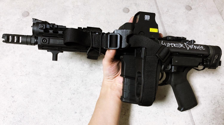 13 実物 LUNAR CONCEPTS BASELINE SINGLE POINT SLING & Impact Weapons Components SLING MOUNT QD D-RING!! シングルポイントスリング!!