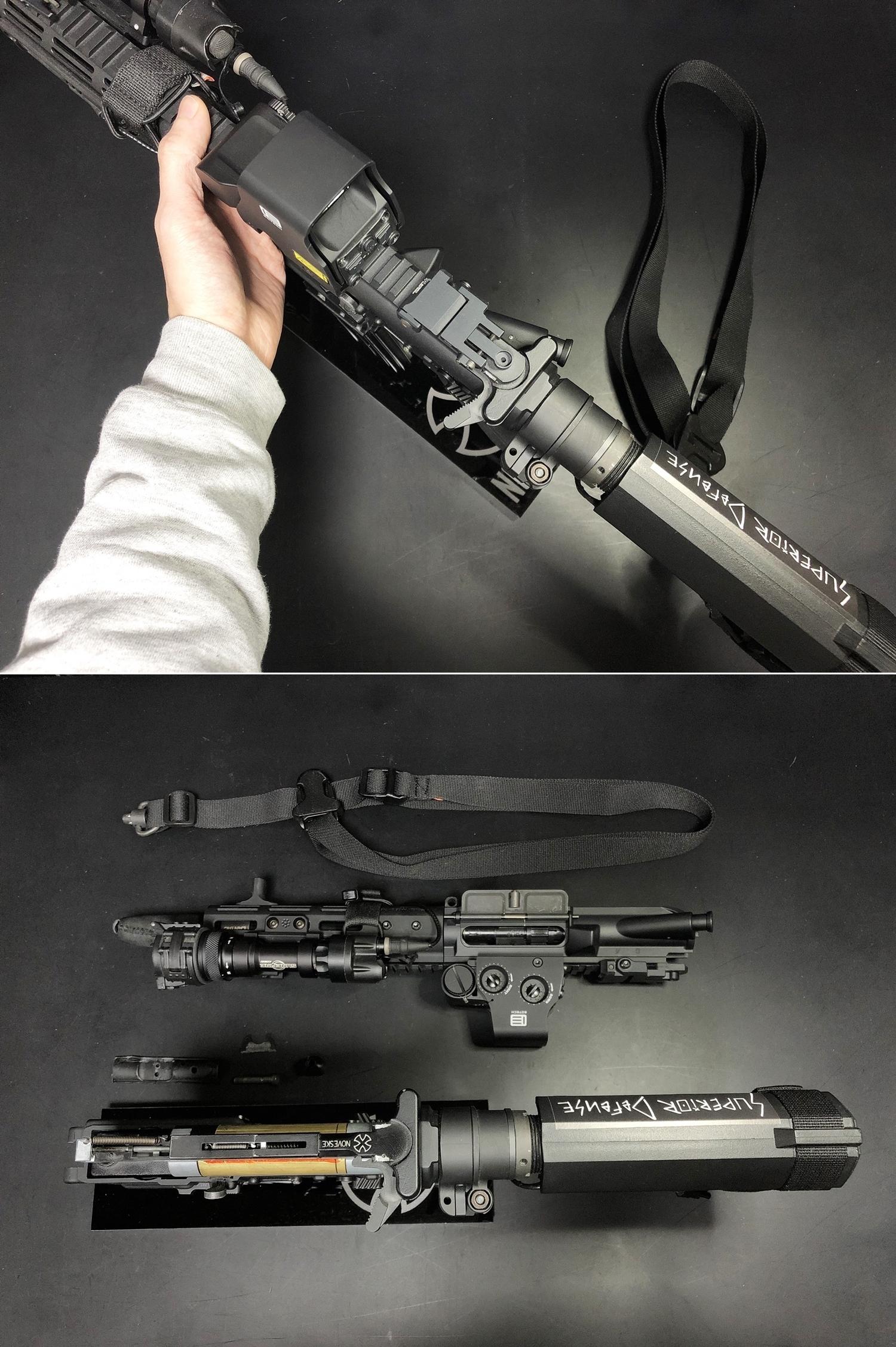 5 次世代 M4 CQB-R 簡易的修理で激的変化!! メカボックス 新品交換 & サマリウム・コバルトモーター カスタム!! メンテナンス 交換 修理 カスタム レビュー!!