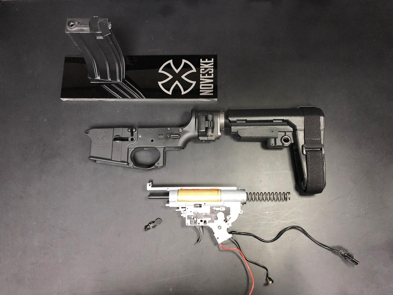 9 次世代 M4 CQB-R 簡易的修理で激的変化!! メカボックス 新品交換 & サマリウム・コバルトモーター カスタム!! メンテナンス 交換 修理 カスタム レビュー!!