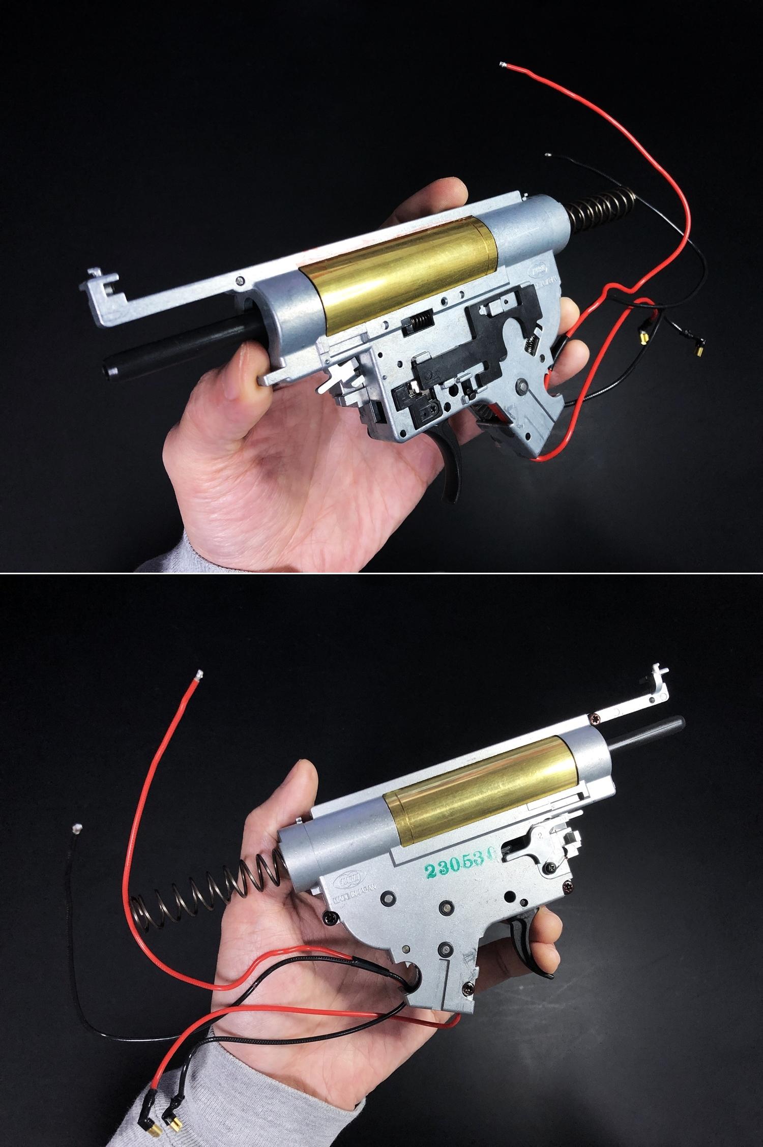 11 次世代 M4 CQB-R 簡易的修理で激的変化!! メカボックス 新品交換 & サマリウム・コバルトモーター カスタム!! メンテナンス 交換 修理 カスタム レビュー!!