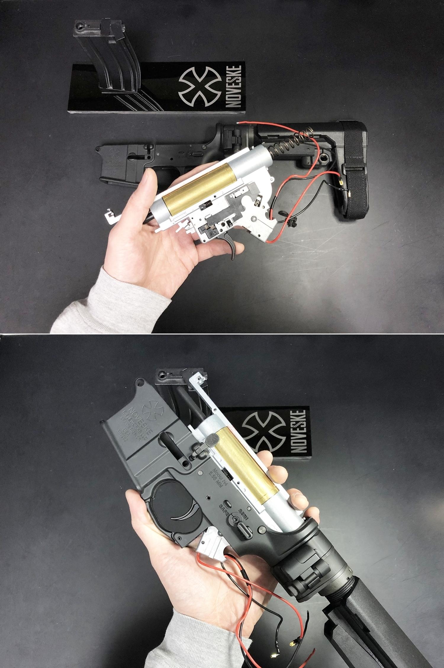 12 次世代 M4 CQB-R 簡易的修理で激的変化!! メカボックス 新品交換 & サマリウム・コバルトモーター カスタム!! メンテナンス 交換 修理 カスタム レビュー!!