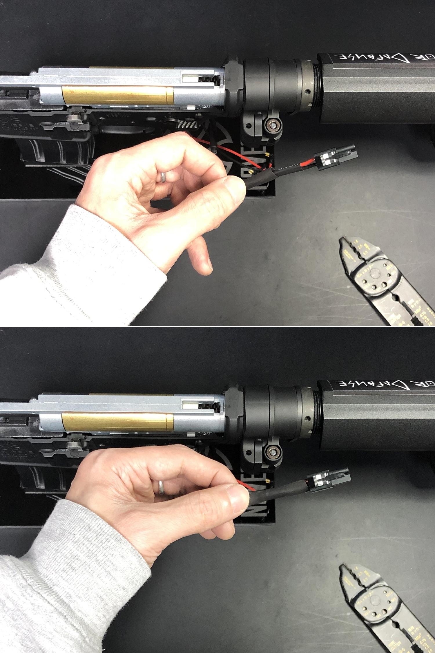 16 次世代 M4 CQB-R 簡易的修理で激的変化!! メカボックス 新品交換 & サマリウム・コバルトモーター カスタム!! メンテナンス 交換 修理 カスタム レビュー!!
