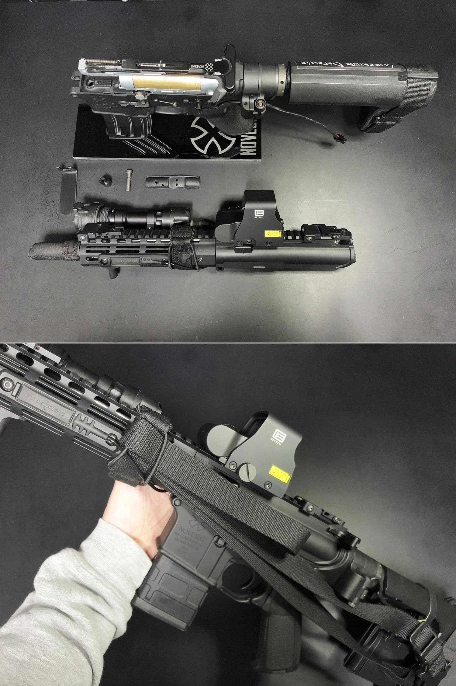 23 次世代 M4 CQB-R 簡易的修理で激的変化!! メカボックス 新品交換 & サマリウム・コバルトモーター カスタム!! メンテナンス 交換 修理 カスタム レビュー!!