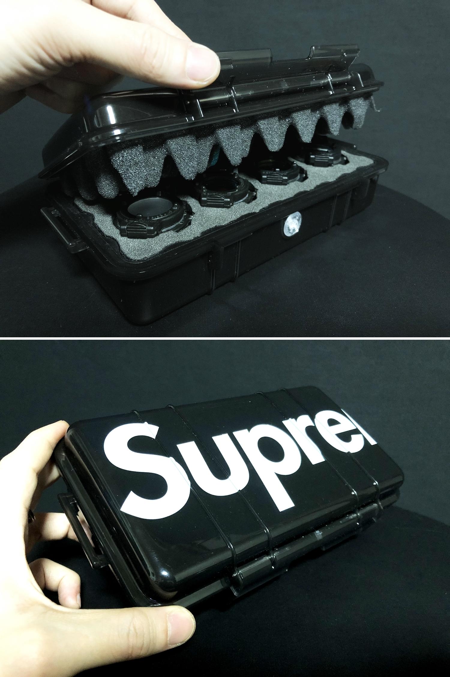 22 SUPREME × PELICAN 1060 CASE URETHANE FOAM DIY PROJECT CUSTOM シュアファイア シュプリーム ペリカン ハードケース ウレタンフォーム カスタム