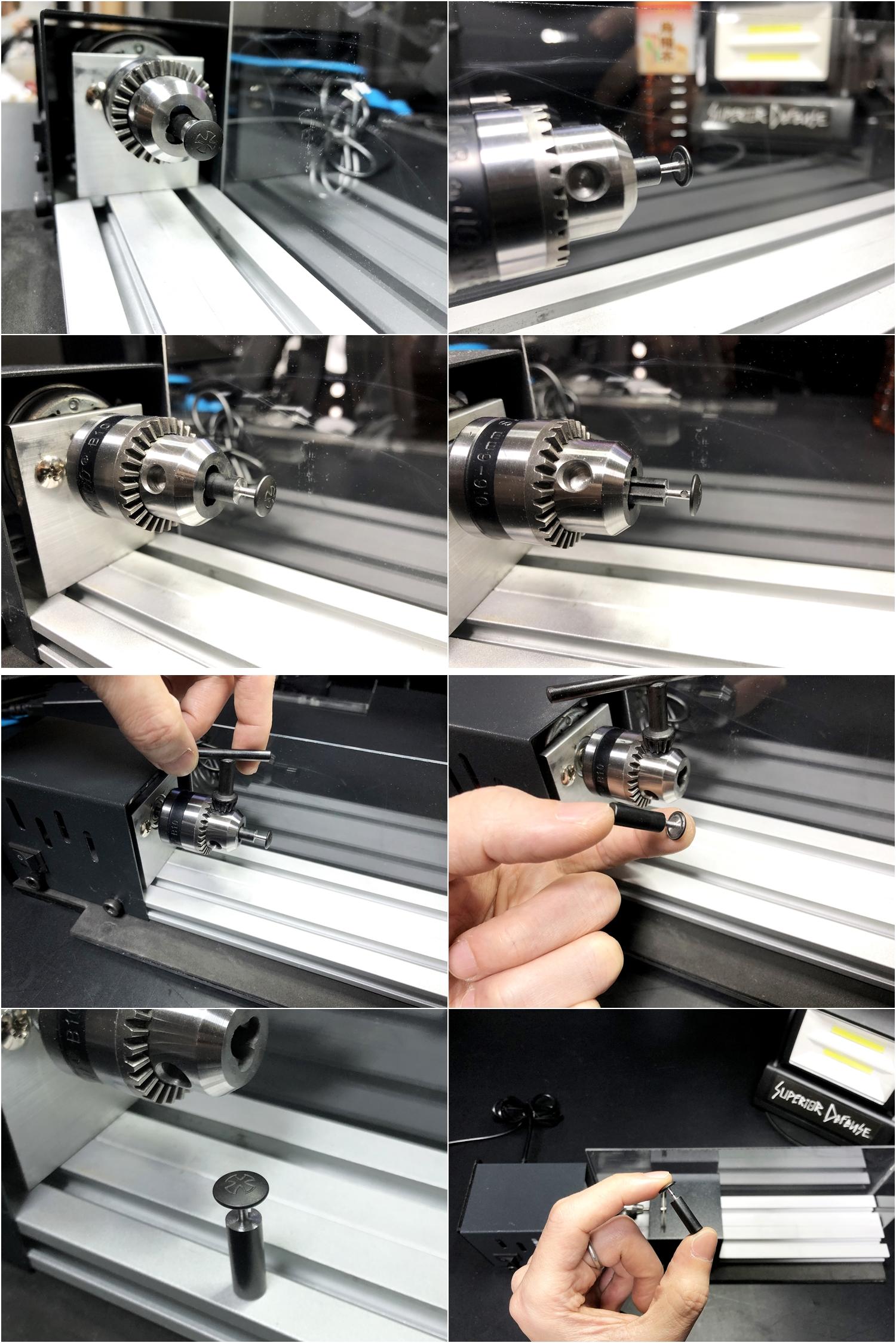 13 実物 NOVESKE AR-15 TAKEDOWN & PIVOT STEEL PIN!! 実物ピンを次世代M4へ対応させるべく簡易的DIY加工だ!ノベスケ ノベスキー スチール テイクダウン ピポッドピン! DIY 加工 カスタム 簡易的 旋盤加工 取付 レビ