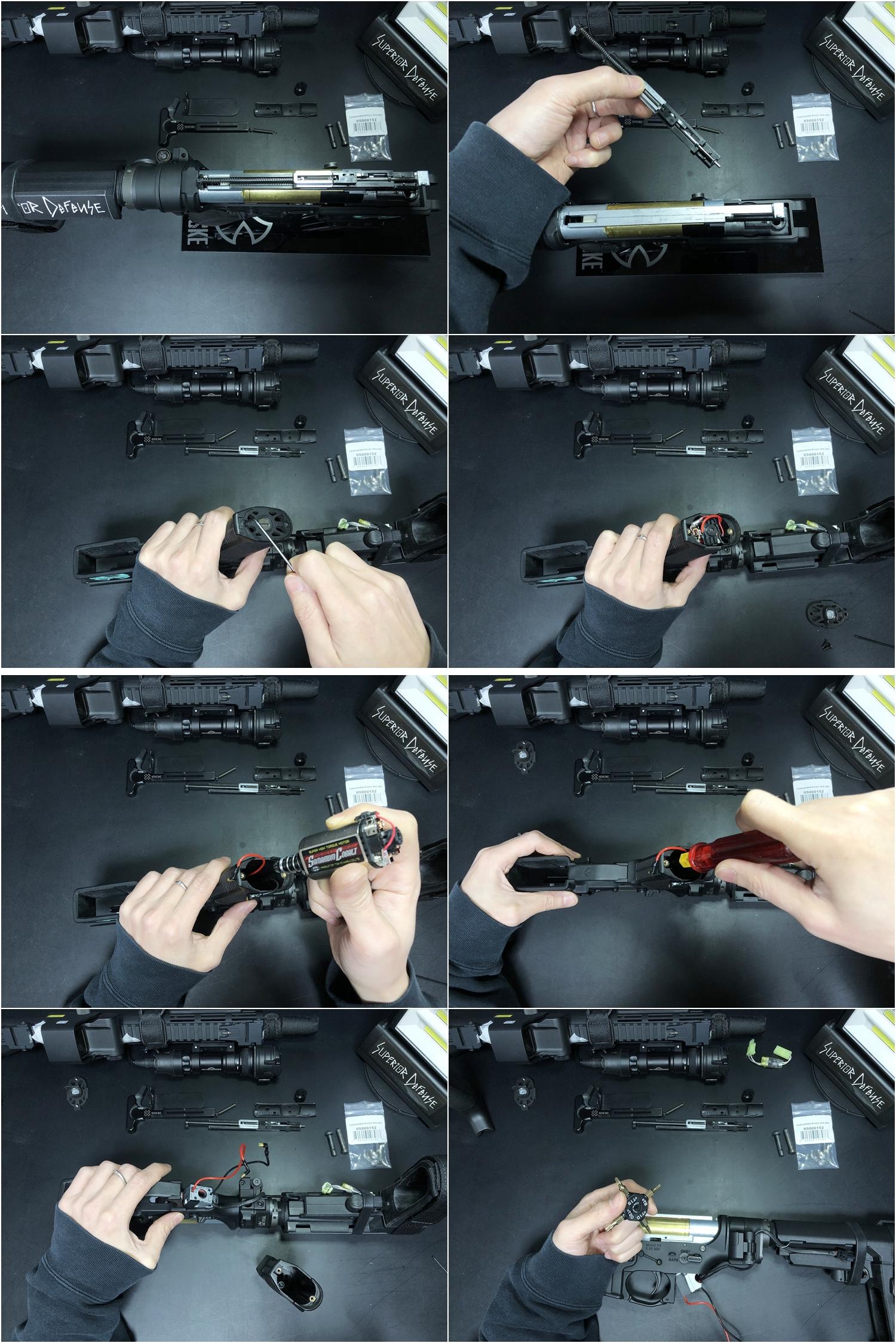 18 実物 NOVESKE AR-15 TAKEDOWN & PIVOT STEEL PIN!! 実物ピンを次世代M4へ対応させるべく簡易的DIY加工だ!ノベスケ ノベスキー スチール テイクダウン ピポッドピン! DIY 加工 カスタム 簡易的 旋盤加工 取付 レビ