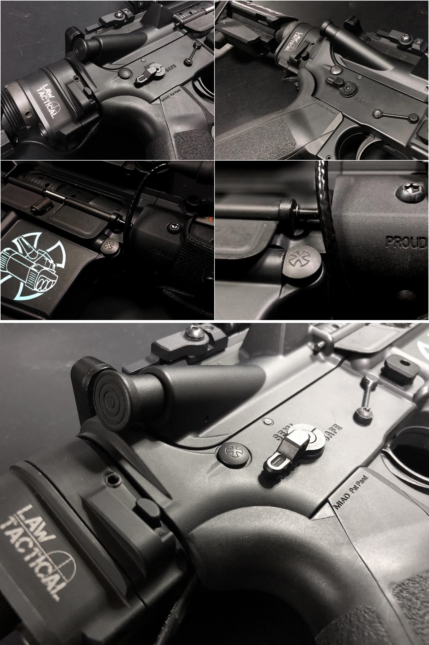 24 実物 NOVESKE AR-15 TAKEDOWN & PIVOT STEEL PIN!! 実物ピンを次世代M4へ対応させるべく簡易的DIY加工だ!ノベスケ ノベスキー スチール テイクダウン ピポッドピン! DIY 加工 カスタム 簡易的 旋盤加工 取付 レビ