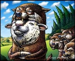 狼の中の羊