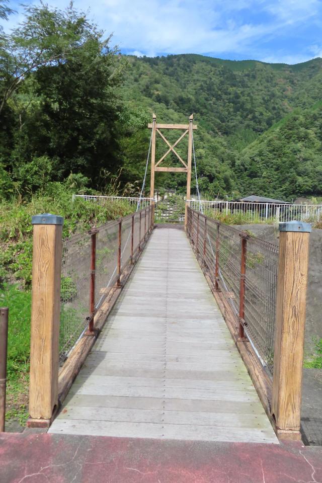 四季彩公園の吊橋3