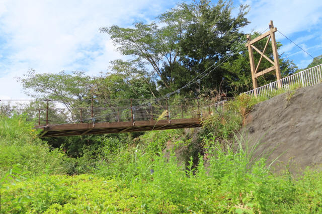 四季彩公園の吊橋5