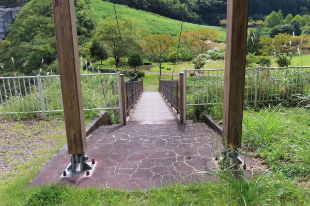 四季彩公園の吊橋6