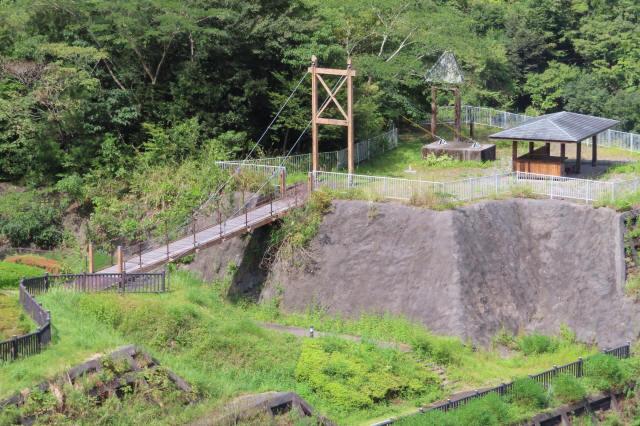 四季彩公園の吊橋9