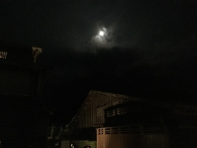 江戸村で月見