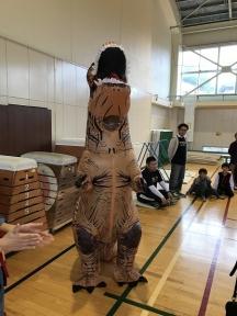 ティラノサウルスも