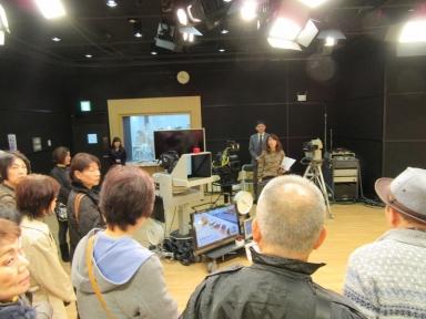 スタジオの説明