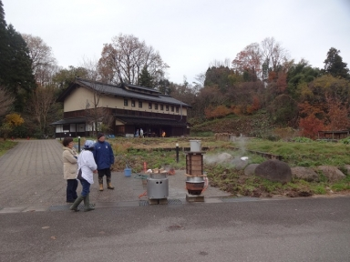 里山メート収穫祭