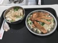 排骨菜飯セット190829