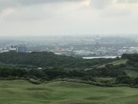 桃園空港が見える190915