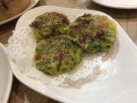 韮菜餅(ニラ入りお焼き)190925