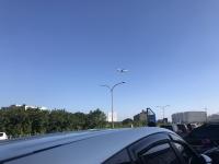 空港そばなので飛行機が見える191011