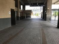 エレベータを出てここを通ってチアステージへ191013