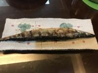 秋刀魚塩焼き191020