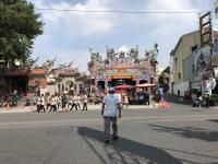 この日は台南いたるところで廟の祭り191026