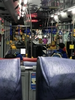 藍1バスはプーさんバス191105