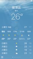 桃園市龍潭區26℃191116