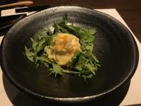 前菜のポテトサラダ191201
