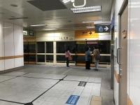 MRT新荘線台北橋駅191202