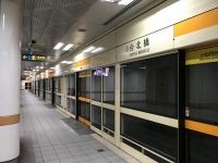 MRT新荘線台北橋駅191216