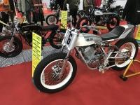 改造バイク展示191222