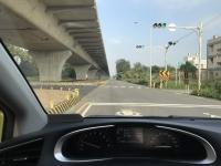 西濱快速公路工事で下道191227