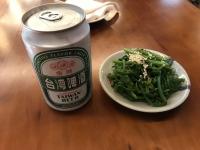 ビールと小皿200109