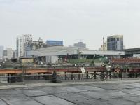 高雄駅周辺はまだ工事中200110