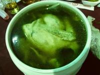 丸鶏スープ200110
