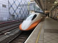 台湾高鐵で帰る200111