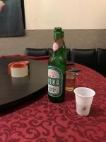 行きつけの店でビールごち200114