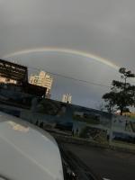 あてずっぽうで虹撮影200115