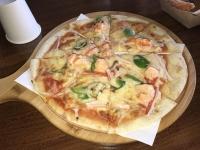 シーフードピザ200125